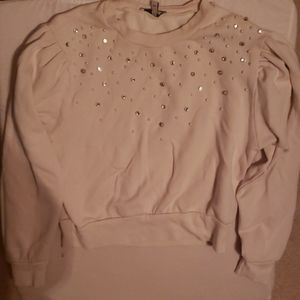 Express sweater with pearl detail
